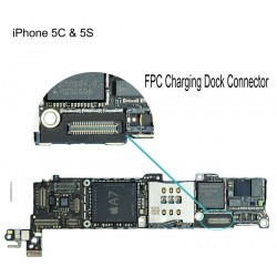 FPC Charging Dock Connector iPhone 5S Repair Service
