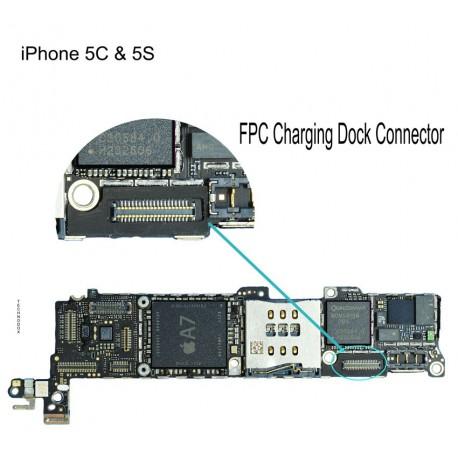 FPC Connector Repair iphone 5 5s 5c
