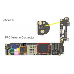 FPC Volume Connector/Socket iPhone 6 Repair Service