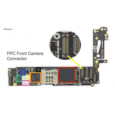 FPC Front Camera Connector Repair iphone 6