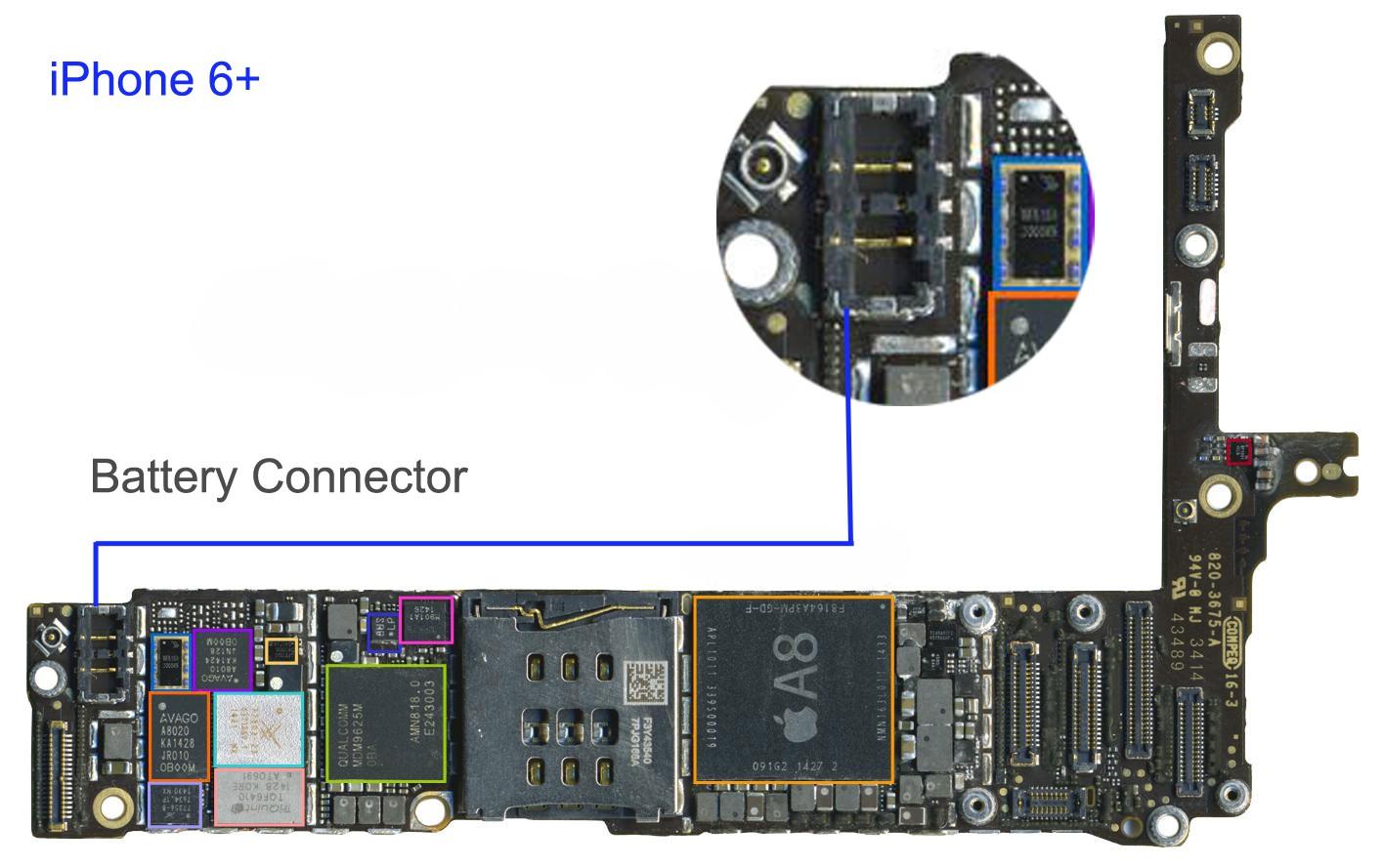Apple Repair Specialist Micro Soldering Board Level Repairs Ipad 2 Logic Diagram Fpc Connector Iphone 6