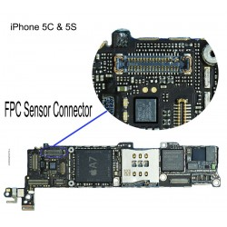 FPC Sensor/Front Camera Connector iPhone 5S Repair Service