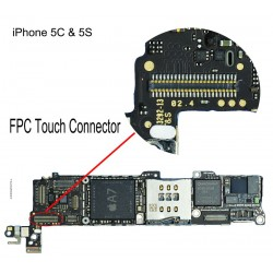 FPC Touch/Digitiser Connector iPhone 5S Repair Service