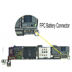 FPC Battery Connector/Socket iPhone 5S Repair Service
