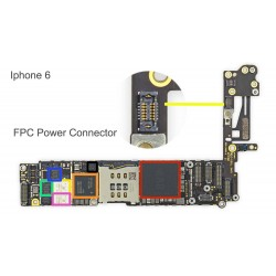 FPC Power Button Connector/Socket iPhone 6 Repair Service