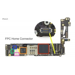 FPC Home Connector/Socket iPhone 6 Repair Service