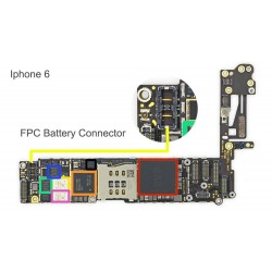 FPC Battery Connector/Socket iPhone 6 Repair Service