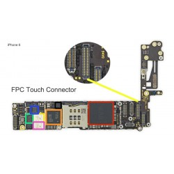 FPC Touch/Digitizer Connector/Socket iPhone 6 Repair Service