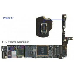 FPC Volume/Mute Connector/Socket iphone 6 Plus Repair Service