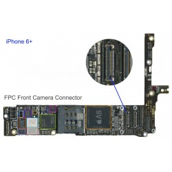 FPC Front Camera Connector/Socket iphone 6 Plus Repair Service