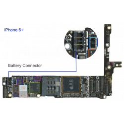 FPC Battery Connector/Socket iphone 6 Plus Repair Service