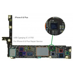 USB charging ic U2 1610A2 for iphone 6 & + Plus repair service