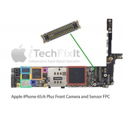 FPC Front Camera connector iphone 6S & Plus Repair Service