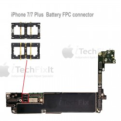 FPC Battery connector iphone 7 & Plus Repair Service