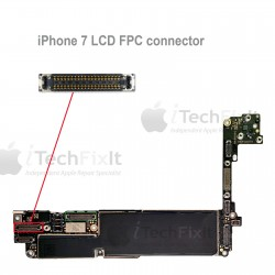 FPC LCD connector iphone 7 & Plus Repair Service