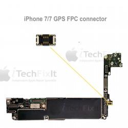 FPC GPS connector iphone 7 & Plus Repair Service