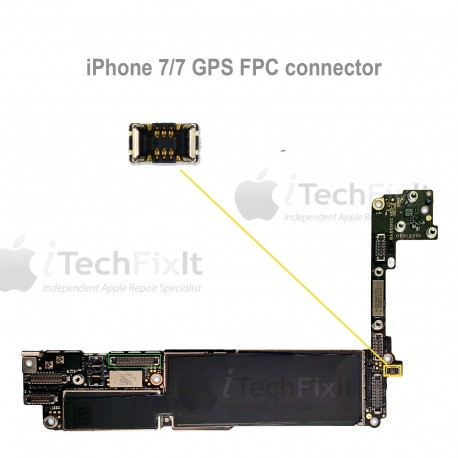 FPC GPS connector iphone 7 & Plus Repair Service