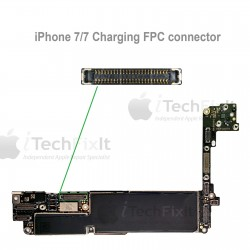 FPC Charging connector iphone 7 & Plus Repair Service