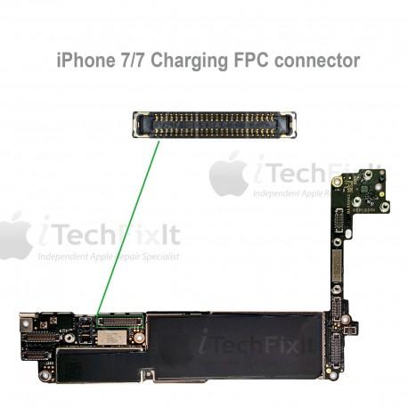 FPC Charging connector iphone 7 & Plus Repair Service