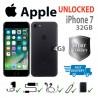 Apple iphone 7 32GB (UNLOCKED ANY NETWORK)Gray/Matt. Fully refurbished