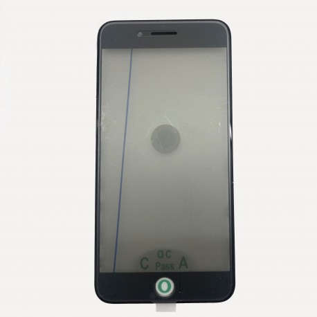 4 in 1 Cold Press Front Glass Frame Pre Applied OCA Polarizer iPhone 6S