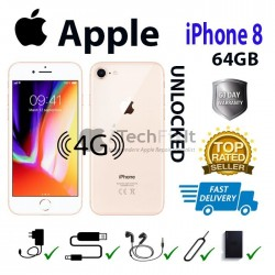 Apple iphone 8 64GB (Smartphone) Gold/White Unlocked for any network