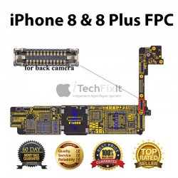 Back camera FPC connector iphone 8 & 8 Plus Repair Service.