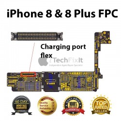 FPC charging port connector iphone 8 & 8 Plus Repair Service