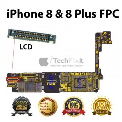 LCD FPC connector iphone 8 & 8 Plus Repair Service