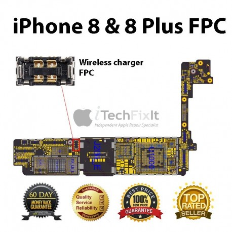 FPC LCD connector iphone 8 & 8 Plus Repair Service
